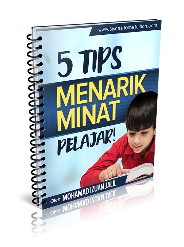 Tips menarik minat pelajar